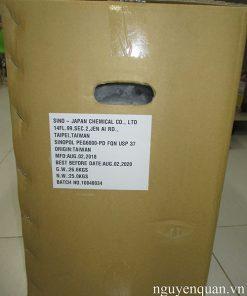 PEG 6000 bột tphcm