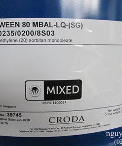 Tween 80 Croda hcm